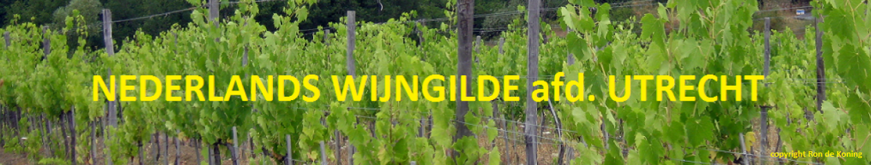 Welkom bij het Nederlands Wijngilde afdeling Utrecht !